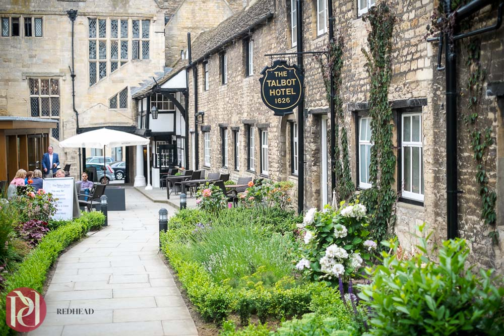 Wedding Photography at The Talbot Hotel in Oundle
