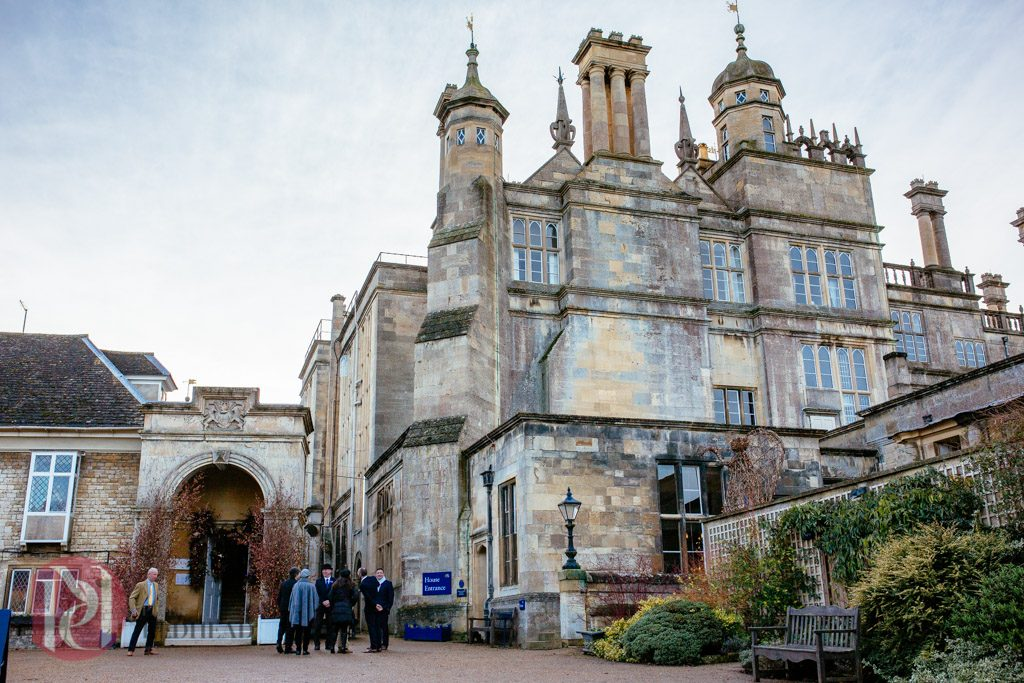 Burghley House Wedding at Christmas