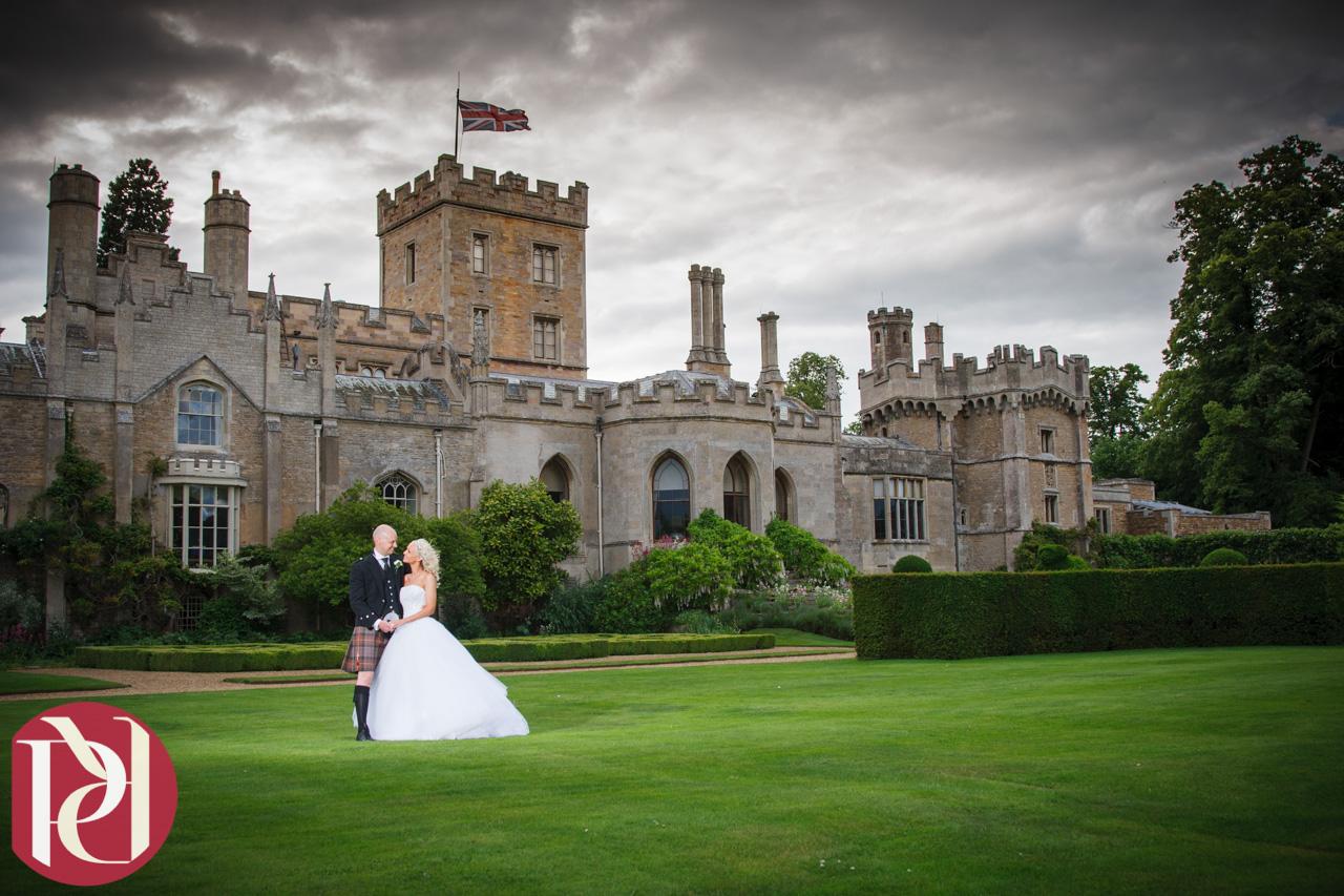 Elton Hall Wedding Photography of Iain and Lyndsey