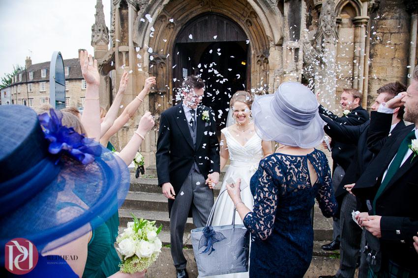 Wedding Photographs at All Saints Church Stamford