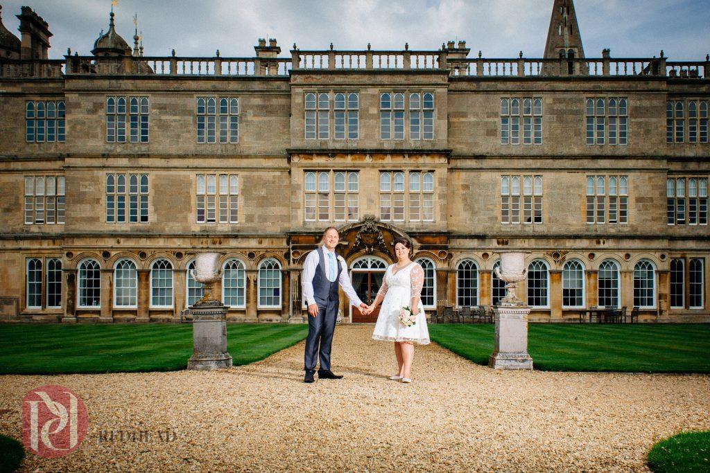 Burghley House Wedding - Summer House
